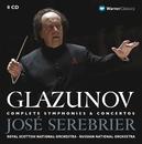 Glazunov : Complete Symphonies & Concertos/José Serebrier