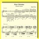 Pour Christine - Étude de Concert/Daniel Zinn