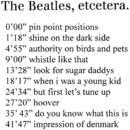 The Beatles etcetera/The Beatles etcetera
