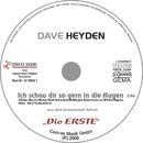 Ich schau dir so gern in die Augen/Dave Heyden