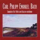 Carl Philipp Emanuel Bach: Sonaten für Flöte und Basso continuo/Vaclav Kunt, Petr Adamec, Frantisek Slama