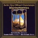 Klarinettentrios/Karl Schlechta, Susanne Káldor, Ákos Hernádi