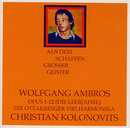 Opus 1-12 [Die Leerjahre] - Die Ottakringer Vielharmonika/Wolfgang Ambros, Christian Kolonovits