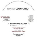 Wie zwei Inseln im Ozean/Diana Leonhardt