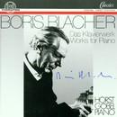 Boris Blacher: Das Klavierwerk/Horst Göbel