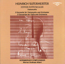 Heinrich Sutermeister: 2 Concertos for Cello and Orchestra/Nuernberger Symphoniker, Esther Nyffenegger, Werner Andreas Albert