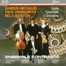 Milhaud, Hindemith, Bartok/Ensemble Kontraste
