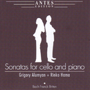 Sonatas for Cello and Piano/Grigory Alumyan, Rinko Hama