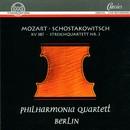 Wolfgang Amadeus Mozart, Dimitri Schostakowitsch/Philharmonia Quartett Berlin