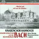 "Johann Sebastian Bach, Johann Christoph Friedrich Bach/Knabenchor Hannover, Barockorchester ""L'arco"", Heinz Henning"