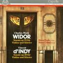 Charles-Marie Widor: Sonate op. 79, Vincent d'Indy: Sonate op. 59/Hans Maile, Horst Göbel