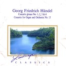 Georg Friedrich Händel: Concerto Grosso 1, 2, 3 & 4, Konzert für Orgel & Orchester Nr. 13, F-Dur/Orchestra da Camera Dell'Arte, Luigi Zanetti