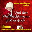 Der Nikolaus-, Santa-, Christkind-Simulator/iSanta