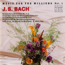 Music For The Millions Vol. 1 - J. S. Bach/Southwest Studio Orchestra, Bernhard Marx