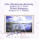 Felix Mendelssohn-Bartholdy: Sinfonie Nr. 4, A-Dur, op. 90 & Robert Schumann: Sinfonie Nr. 3, Es-Dur, op. 97/Philharmonische Vereinigung Arte Sinfonica, Heribert Brandt