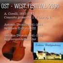 Concerts of the East - West Festival 2004: A. Corelli, 1653-1713 Concerto grosso Nr.1 D-Dur 0p.6; Antonin Dvorak,1841-1904 Serenade E-Dur op.22 Antonio Vivaldi, 1678-1741  Fagottkonzert e-Moll/NOVI SAD CHAMBER PHILHARMONIC ORCHESTER, künstlerischer Leiter: Florian Balasz; GERNOT  WINISCHHOFER, 1. Violine; BERTRAND GIRAU
