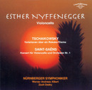 Tchaikovsky: Rococo Variations op. 33 & Saint-Saëns: Cello Concerto No. 1 in A minor, op. 33/Nuernberger Symphoniker, Esther Nyffenegger