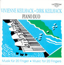 Franz Schubert, Johannes Brahms, Max Reger, Claude Debussy, Paul Hindemith, Werner Heider: Musik für 20 Finger [Music for 20 Fingers]/Vivienne Keilhack & Dirk Keilhack