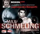 Max Schmeling - Erinnerungen/Matthias Ponnier & Andreas von Thien