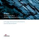 Brahms : Symphony No.1 & Academic Festival Overture/Daniel Barenboim & Chicago Symphony Orchestra
