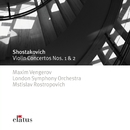 Shostakovich : Violin Concertos Nos 1 & 2  -  Elatus/Maxim Vengerov, Mstislav Rostropovich & London Symphony Orchestra