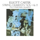 Elliott Carter: String Quartets Nos. 1 & 2/Michael Rudiakov/The Composers Quartet