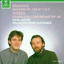 Brahms : Clarinet Sonatas & Weber : Grand duo concertant/François-René Duchâble