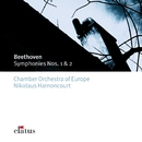 Beethoven : Symphonies 1 & 2  -  Elatus/Nikolaus Harnoncourt & Chamber Orchestra of Europe