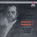 Beethoven : Symphonies Nos 4 & 7/Nikolaus Harnoncourt & Chamber Orchestra of Europe