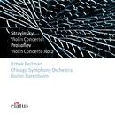 Stravinsky : Violin Concerto & Prokofiev : Violin Concerto No.2  -  Elatus/Daniel Barenboim & Chicago Symphony Orchestra