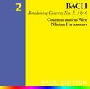 Bach, JS : Brandenburg Concertos Nos 3, 5 & 6/Nikolaus Harnoncourt & Concentus musicus Wien