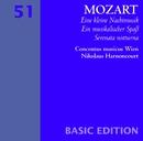 Mozart : Serenades Nos 6 & 13, 'Serenata notturna' & 'Eine kleine Nachtmusik'/Nikolaus Harnoncourt & Concentus musicus Wien