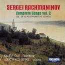 Rachmaninov : Complete Songs Vol. 2 - Op.26 and Posthumous Songs/Kalevi Olli and Ulrich Koneffke