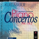 Mendelssohn : Piano Concertos Nos 1, 2 & Concerto for Piano & Strings/Cyprien Katsaris, Kurt Masur & Gewandhausorchester Leipzig