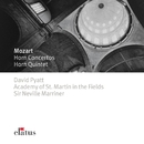 Mozart : Horn Concertos 1-4 & Horn Quintet  -  Elatus/David Pyatt