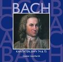 Bach, JS : Sacred Cantatas BWV Nos 74 & 75/Gustav Leonhardt