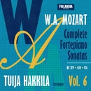 W.A. Mozart : Complete Fortepiano Sonatas Vol. 6/Tuija Hakkila