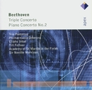 Beethoven : Triple Concerto & Piano Concerto No.2  -  Apex/Trio Fontenay, Eliahu Inbal & Philharmonia Orchestra