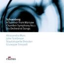 Schönberg : 6 Orchestral Songs & Chamber Symphony No.1  -  Elatus/Giuseppe Sinopoli