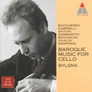 Baroque Music for Cello/Anner Bylsma, Dijck Koster, Hermann Höbarth, Anthony Woodrow & Gustav Leonhardt