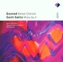 Gounod : Messe Chorale & Saint-Saëns : Mass  -  Apex/Marie-Claire Alain, Michel Corboz & Lausanne Vocal Ensemble