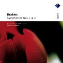 Brahms : Symphonies Nos 1 & 2  -  Apex/Edouard Lindenberg & North-West German Philharmonic Orchestra