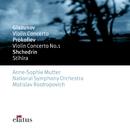 Glazunov & Prokofiev : Violin Concertos  -  Elatus/Anne-Sophie Mutter, Mstislav Rostropovich & National Symphony Orchestra