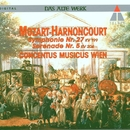 Mozart : Symphony No.27 & Serenade No.5/Nikolaus Harnoncourt