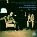 Schubert : Symphonies Nos 3, 8 & Wanderer Fantasy/Boris Berezovsky, Kurt Masur & New York Philharmonic Orchestra