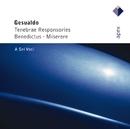 Gesualdo : Tenebrae responsories, Benedictus & Miserere  -  Apex/A Sei Voci