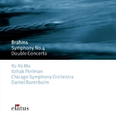 Brahms : Symphony No.4 & Double Concerto  -  Elatus/Daniel Barenboim & Chicago Symphony Orchestra