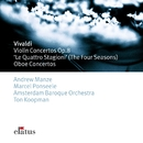 Vivaldi : Le quattro stagioni [The Four Seasons] & Oboe Concertos  -  Elatus/Marcel Ponseele, Andrew Manze, Ton Koopman & Amsterdam Baroque Orchestra