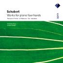 Schubert : Works for piano four hands/Anne Queffelec and Imogen Cooper