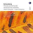 Schönberg : Pelleas und Melisande, Variations, Violin Concerto & Piano Concerto  -  APEX/Pierre Boulez